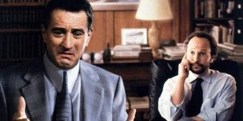 Depresja gangstera - Robert de Niro i Billy Cristal.