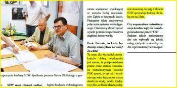 Fragment wywiadu Piotra Uścińskiego