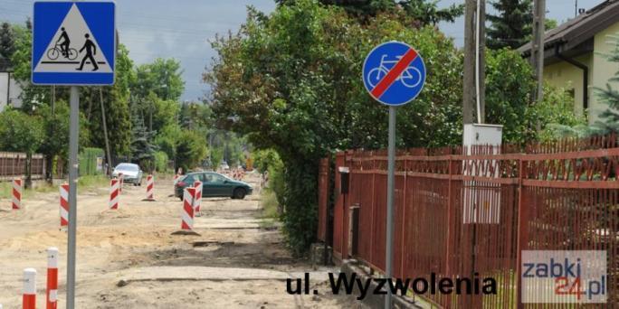 Ząbki ulica Wyzwolenia