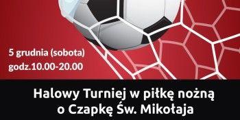 Mikołajkowy turniej piłki nożnej w Ząbkach