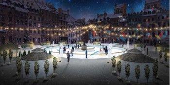 Mieszkańcy Ząbek ruszają na lodowisko na Stare Miasto