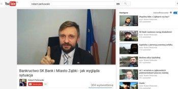 Mieszkańcy Ząbek oczekują od burmistrza roberta perkowskiego wyjaśnień w sprawie SK Banku
